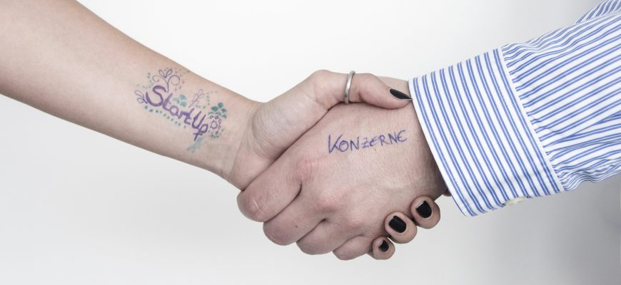 Startups und Konzerne kooperieren
